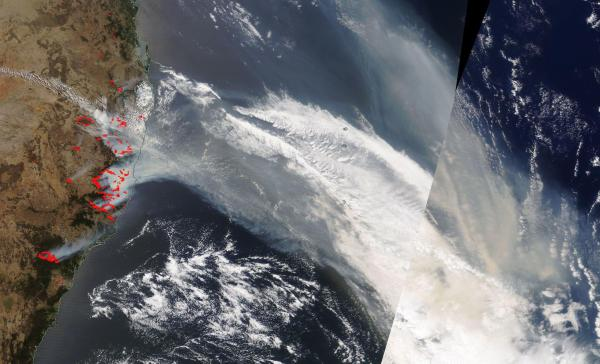 NASA's Terra Satellite Sees Devastating Bushfires in ...