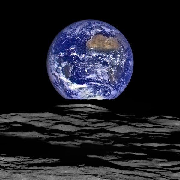 NASA Releases New High-Res Earthrise Image   NASA