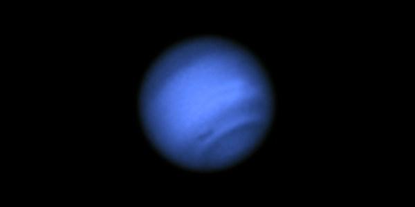 Hubble Confirms New Dark Spot on Neptune NASA