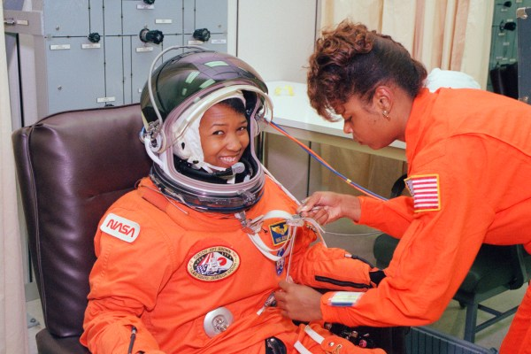 Astronaut Mae Jemison the first AfricanAmerican woman to