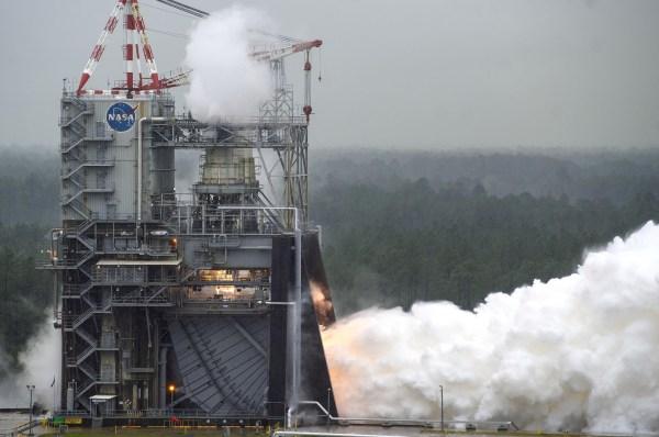 NASA Achieves Rocket Engine Test Milestone Needed for Moon ...