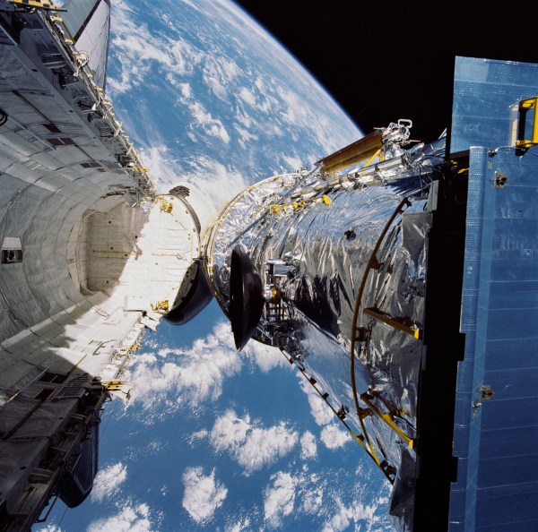April 25 1990 Deployment of the Hubble Space Telescope