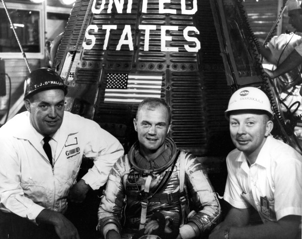 Launch Operations Manager Donnelly was a Space Program Pioneer NASA