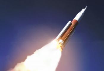 Il lancio dell'Orion. (Fonte: NASA)