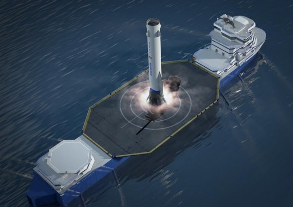 Blue Origin publishes New Glenn overview as pad and landing ship continue development
