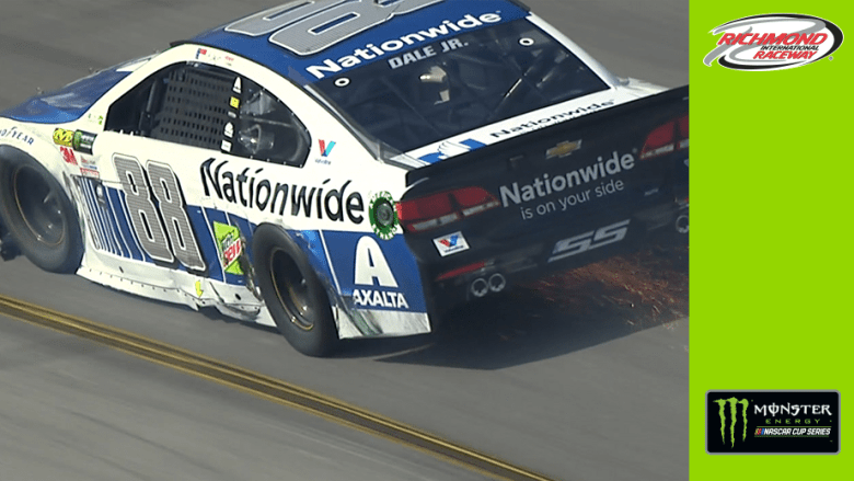 Jimmie Johnson, Dale Earnhardt Jr. get together late at Richmond | Official Site Of NASCAR