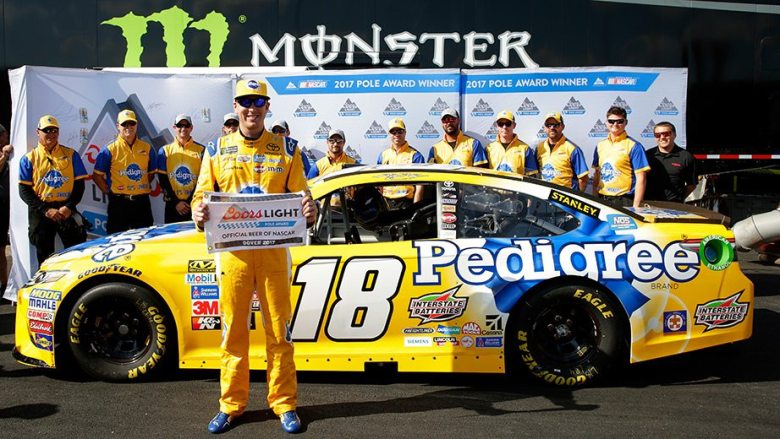Kyle Busch tops qualifying for Coors Light Pole at Dover