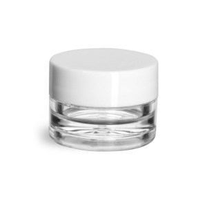 Plastic Jars - Clear