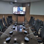nasco-av-Video-Conference-System-at-NTDC-Lahore-display