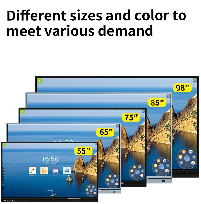 Different sizes of Interactive LED display screens
