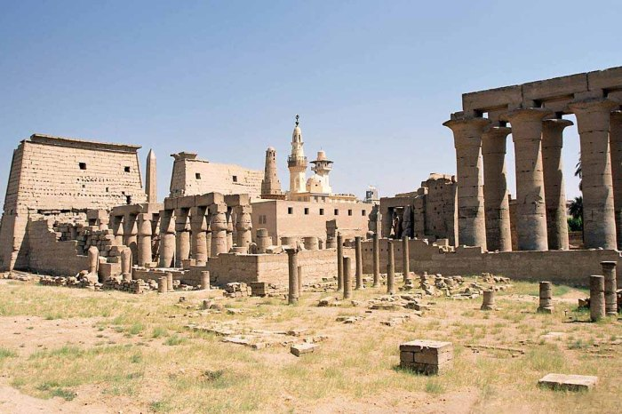 Luxor West bank Classical sites