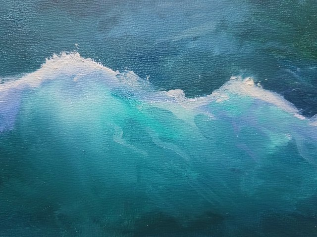 detail of Tempestuous Serenity