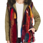 Reversible Fur Anorak - $98