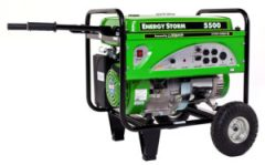 Lifan ES5500 Watt 11 HP Portable Generator Recoil Start
