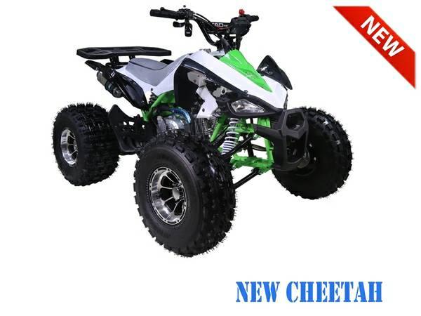 Nashua Sports and Cycle Cheetah ATV