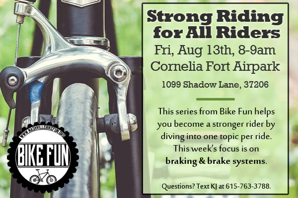 Strong Riding for All Riders flyer