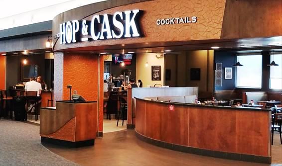 HMSHost brings Blaze Pizza and an exclusive bourbon-themed restaurant, Hop & Cask to CVG