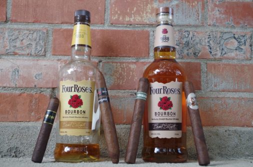 What Makes Four Roses Yellow Label Go With So Many Cigars?