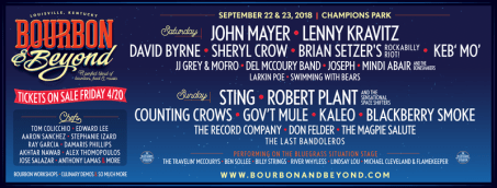 Bourbon & Beyond Announces Extraordinary Music Lineup For World's Largest Bourbon Festival