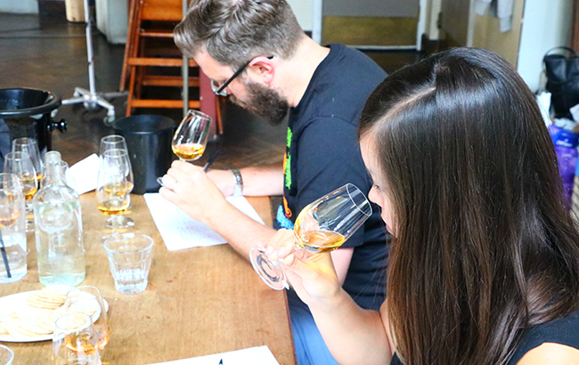The American Whiskey Masters 2018 results