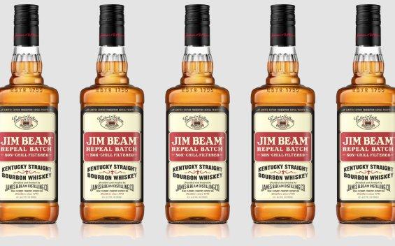 Jim Beam post prohibition-inspired bourbon