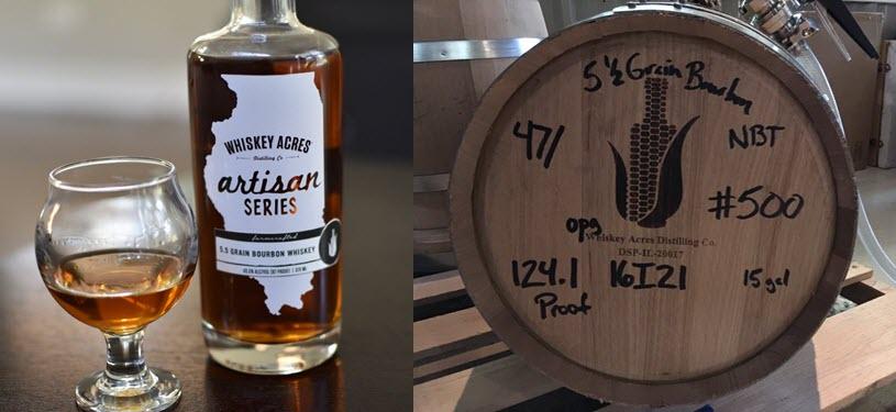 Whiskey Acres Distilling Releases Unique Artisan Series 5.5 Grain Bourbon Whiskey
