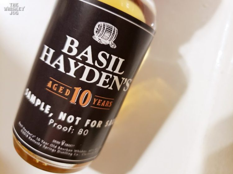 Basil Hayden's Bourbon 10 Years Review