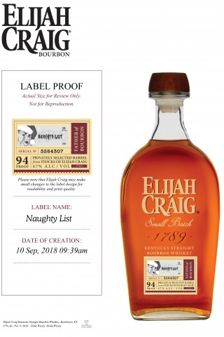 Elijah Craig 10 Year Single Barrel