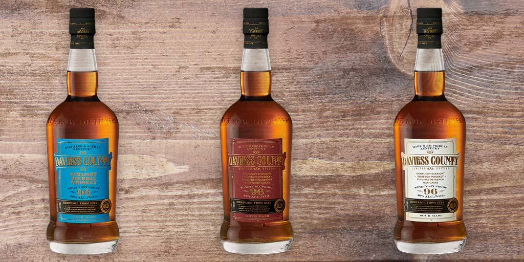 Lux Row Distillers Re-Launches Daviess County Kentucky Straight Bourbon