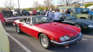 Brenda and Courtney A's Jag X J S