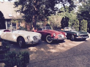 R Welty MG collection