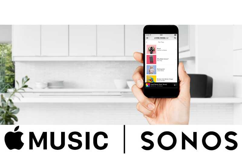 Apple Music and Sonos integration