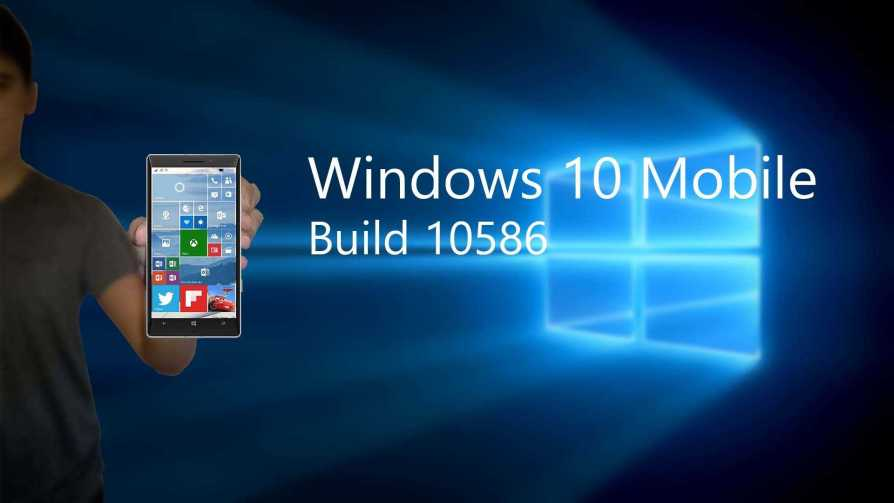 Windows 10 Mobile build 10586