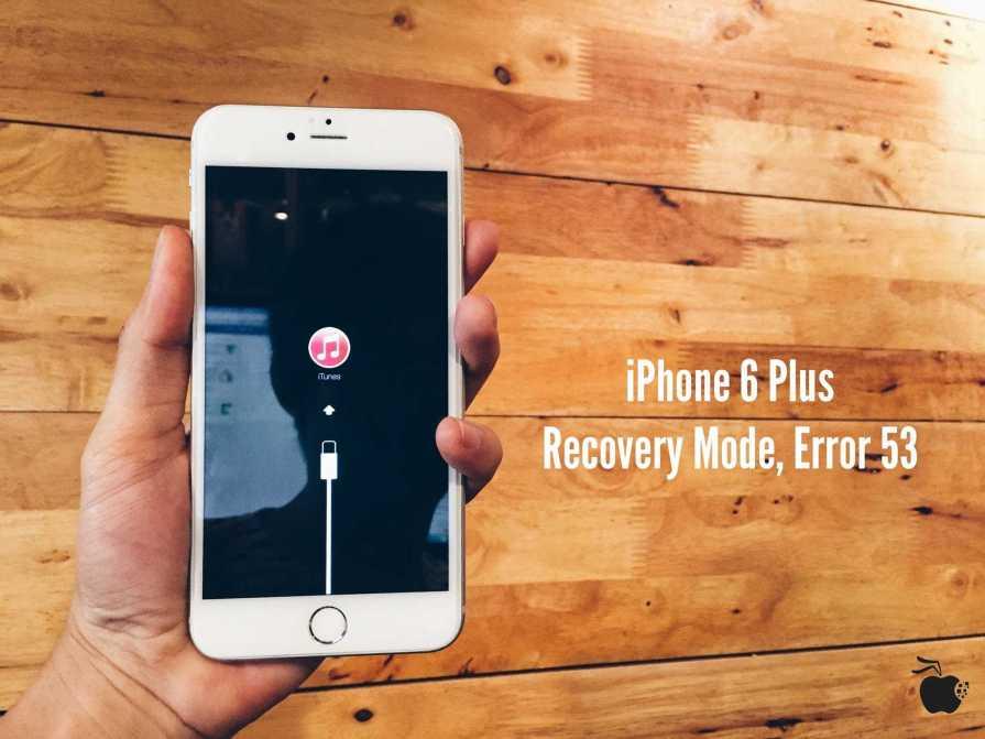 iPhone 6 Error 53