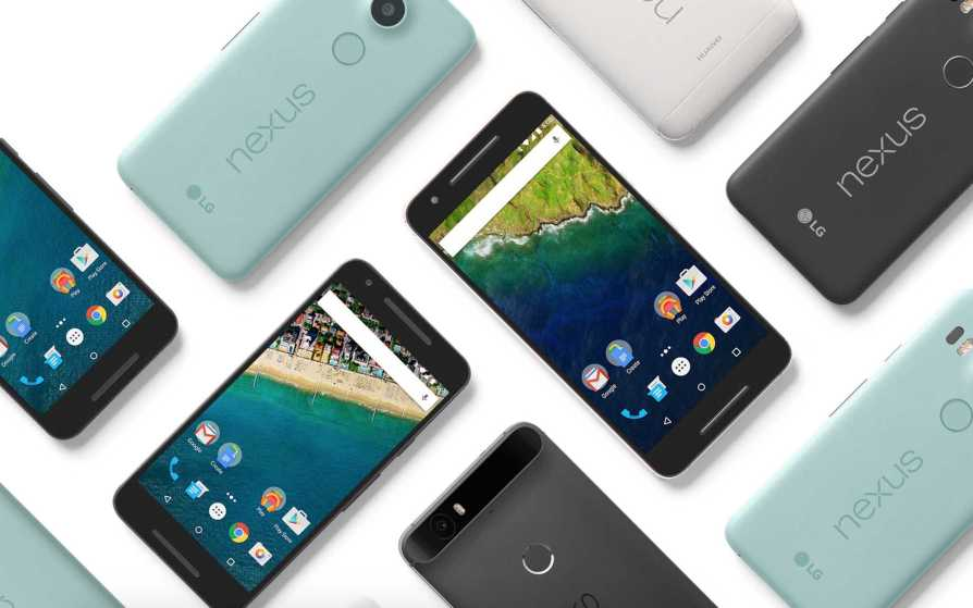 Google Nexus 5X and Nexus 6P