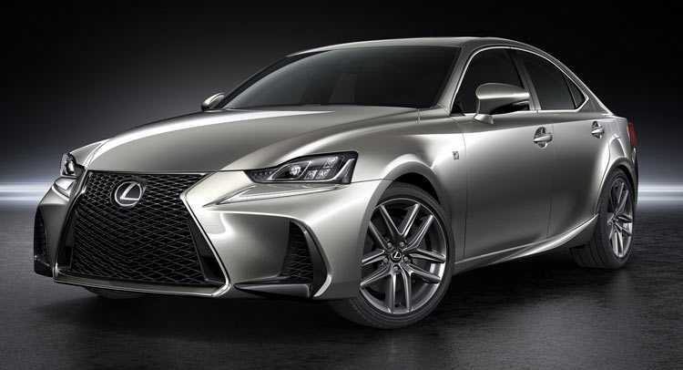 2017 Lexus IS Facelift
