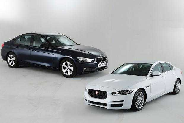 Jaguar XF and XE