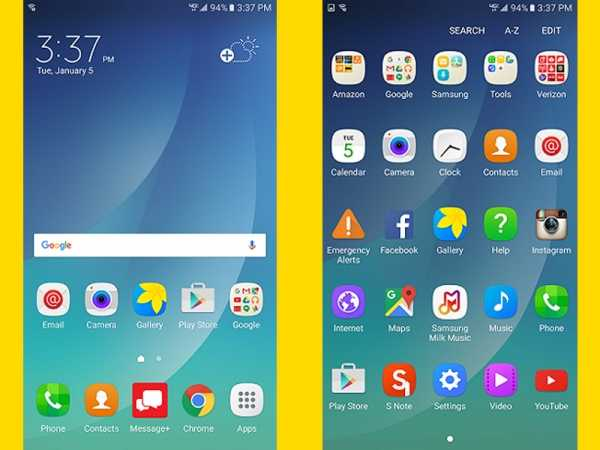 Samsung Galaxy Note 5 Marshmallow