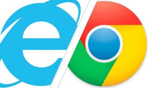 Google Chrome Capsizes Internet Explorer