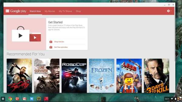 Google Chrome OS to Support Google Play