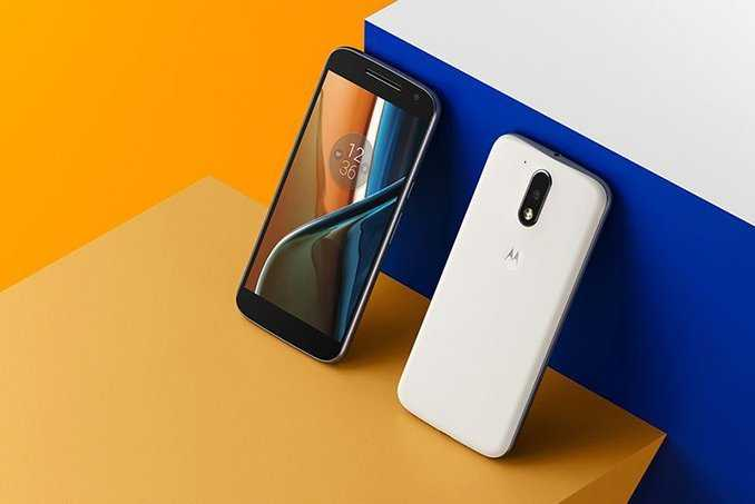 Moto G4 5.5 Inch Screen