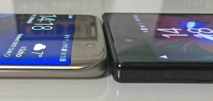 Samsung Galaxy S7 Edge vs Sony Xperia XA Ultra