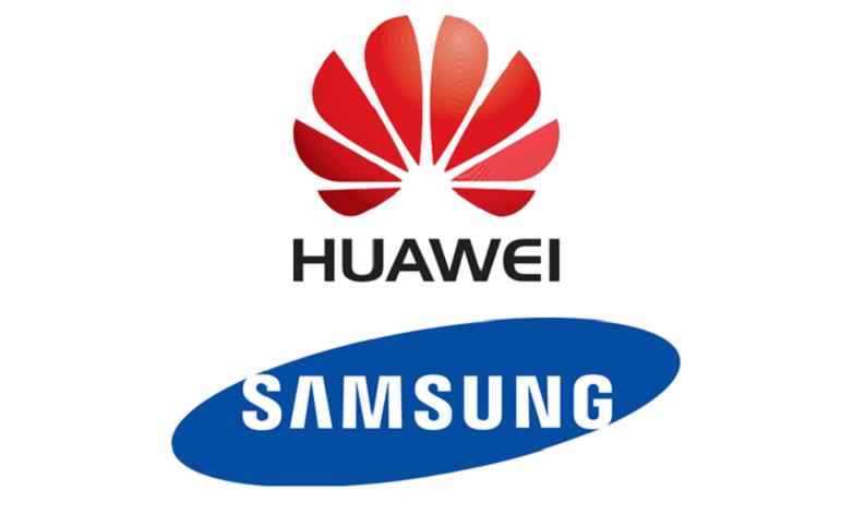Samsung and Huawei