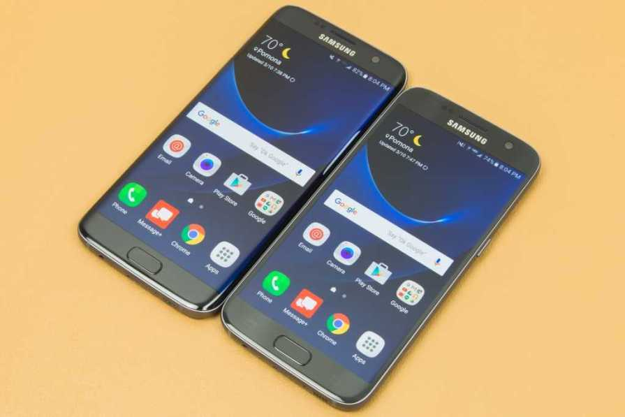 Samsung Galaxy S7 Active, S7 and S7 Edge