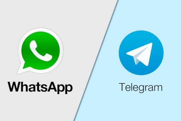 WeChat and Telegram