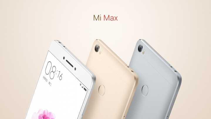 Xiaomi's Mi Max