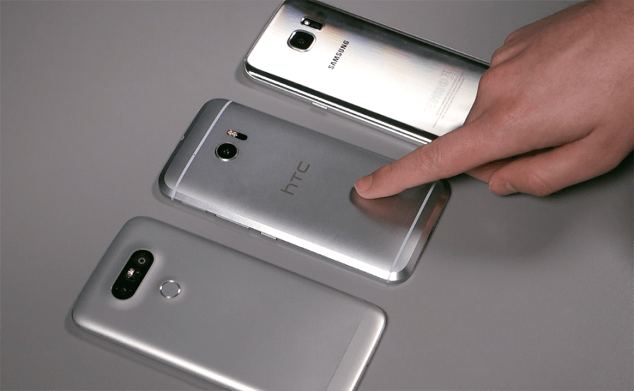 Samsung Galaxy S7 Edge vs. LG G5 vs. HTC 10