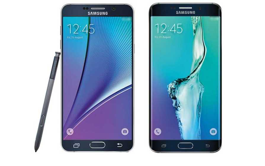 Samsung Galaxy Note 4, Note Edge and Note 5