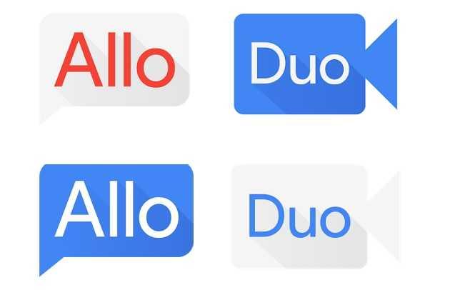 Google Allo and Google Duo