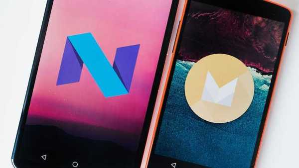 Android N vs Android M